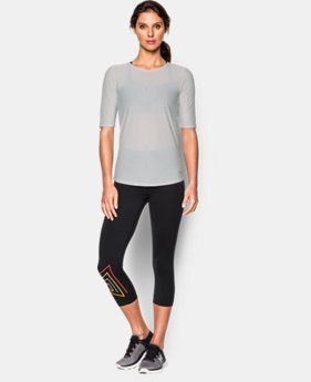 Women's UA HeatGear® CoolSwitch Run Shirt  1 Color $22.49