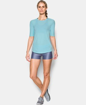 Women's UA CoolSwitch Short Sleeve T LIMITED TIME: FREE SHIPPING 1 Color $39.99