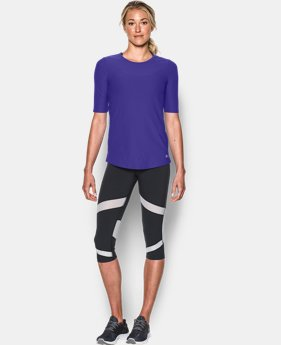 New to Outlet Women's UA CoolSwitch Short Sleeve T  2 Colors $29.99