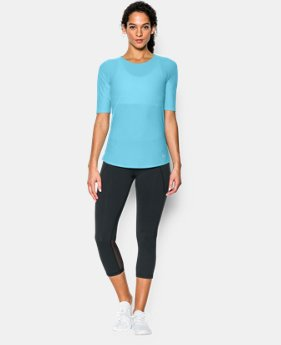New to Outlet Women's UA CoolSwitch Short Sleeve T   $29.99