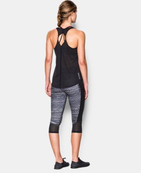 Women's UA Fly-By 2.0 Solid Tank LIMITED TIME: FREE SHIPPING 4 Colors $34.99