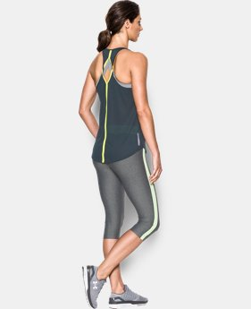 Women's UA HeatGear® CoolSwitch Tank LIMITED TIME: FREE U.S. SHIPPING 9 Colors $20.24 to $34.99
