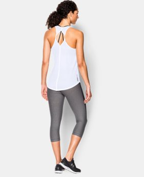 Women's UA Fly-By 2.0 Solid Tank LIMITED TIME: FREE SHIPPING 2 Colors $34.99