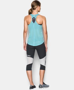Women's UA Fly-By 2.0 Solid Tank LIMITED TIME: FREE SHIPPING 1 Color $34.99