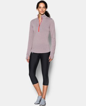 Women's UA Streaker 1/2 Zip  2 Colors $32.99 to $38.99