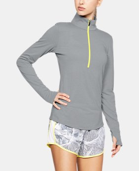 Women's UA Streaker 1/2 Zip  2  Colors Available $64.99