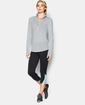 New to Outlet Women's UA Streaker ½ Zip  1 Color $41.99
