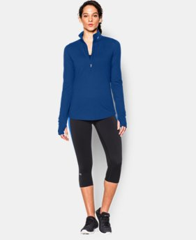 New to Outlet Women's UA Streaker ½ Zip   $41.99