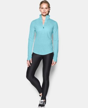 Women's UA Streaker ½ Zip  1 Color $54.99