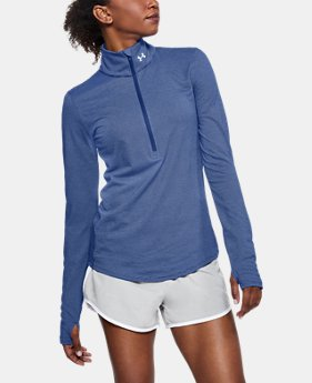 Women's UA Streaker 1/2 Zip  4  Colors Available $54.99