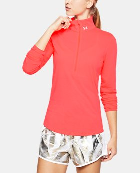 Women's UA Streaker 1/2 Zip  4 Colors $54.99