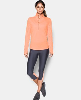 Best Seller Women's UA Streaker ½ Zip  1 Color $54.99