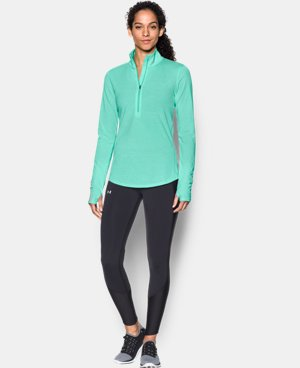 Best Seller Women's UA Streaker ½ Zip  2 Colors $54.99