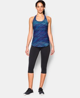 Women's UA Fly-By Printed 2.0 Tank