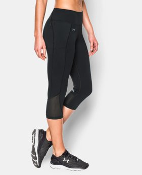 Women's UA Fly-By Run Capri LIMITED TIME: FREE SHIPPING 2 Colors $59.99
