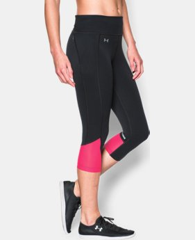Women's UA Fly-By Run Capri  6 Colors $44.99