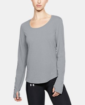 Women's UA Streaker Long Sleeve  5  Colors Available $23.99 to $29.99