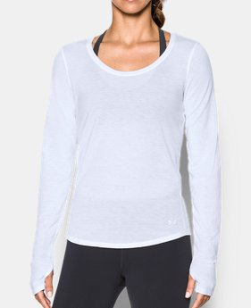 Women's White Long Sleeve Shirts | Under Armour US