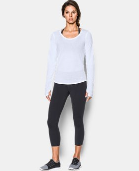 Best Seller Women's UA Streaker Run Long Sleeve LIMITED TIME: FREE SHIPPING 2 Colors $39.99