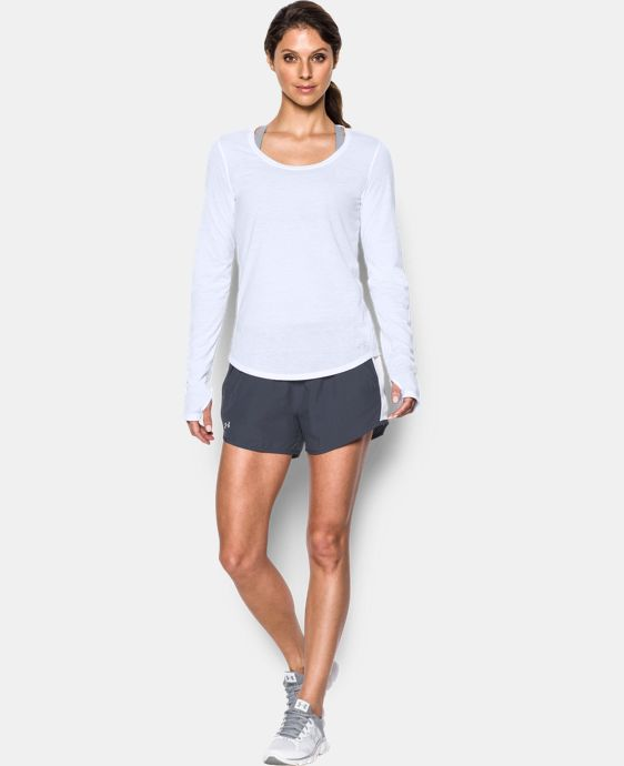 Women's UA Charged Run Long Sleeve   $44.99
