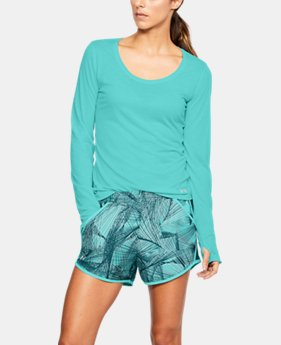 Women's UA Streaker Long Sleeve  8 Colors $29.99 to $39.99