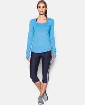 Best Seller Women's UA Streaker Run Long Sleeve LIMITED TIME: FREE SHIPPING 1 Color $39.99