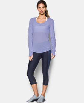 Best Seller Women's UA Streaker Long Sleeve LIMITED TIME: FREE U.S. SHIPPING 2 Colors $39.99
