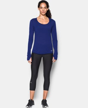 New to Outlet Women's UA Streaker Long Sleeve LIMITED TIME: FREE U.S. SHIPPING 3 Colors $22.49 to $29.99