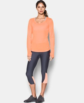 Women's UA Streaker Long Sleeve  2 Colors $21.99 to $29.99