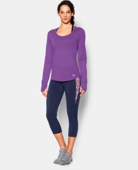 New to Outlet Women's UA Streaker Run Long Sleeve  1 Color $29.99