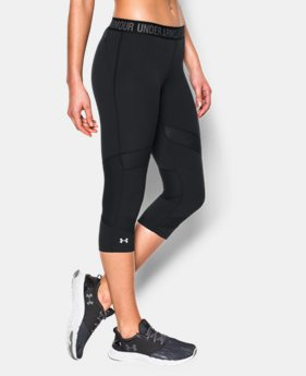 "Women's UA HeatGear® CoolSwitch 15"" Capri  2 Colors $39.74 to $52.99"