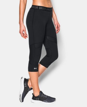 "Best Seller Women's UA HeatGear® CoolSwitch 15"" Capri LIMITED TIME: FREE U.S. SHIPPING 1 Color $59.99"
