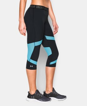 New to Outlet Women's UA CoolSwitch Capri  3 Colors $35.99 to $44.99