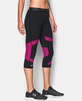 Best Seller Women's UA CoolSwitch Capri  3 Colors $59.99