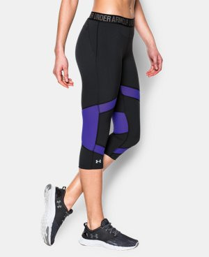 "Women's UA HeatGear® CoolSwitch 15"" Capri LIMITED TIME: FREE SHIPPING 3 Colors $52.99 to $69.99"