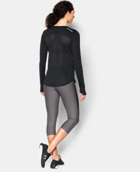 Women's UA Fly-By Solid Long Sleeve  1 Color $29.99