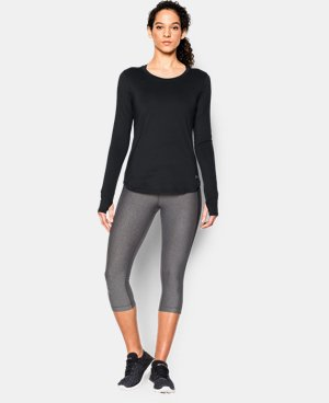 New Arrival  Women's UA Fly-By Solid Long Sleeve LIMITED TIME: FREE SHIPPING 1 Color $54.99