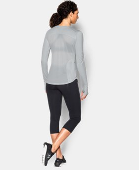 Women's UA Fly-By Solid Long Sleeve  1 Color $22.49 to $29.99