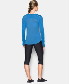 Women's UA Fly-By Solid Long Sleeve  1 Color $29.99 to $41.99