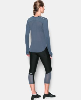 Women's UA Fly-By Solid Long Sleeve  1 Color $41.99