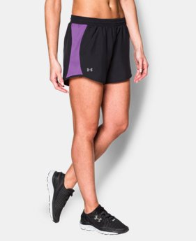 Women's UA Fly-By Run Short  7 Colors $22.99