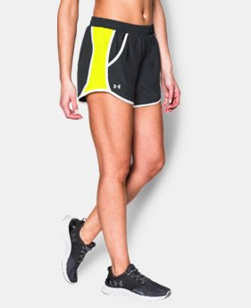 Best Seller Women's UA Fly-By Run Short LIMITED TIME: FREE U.S. SHIPPING 2 Colors $14.24 to $24.99
