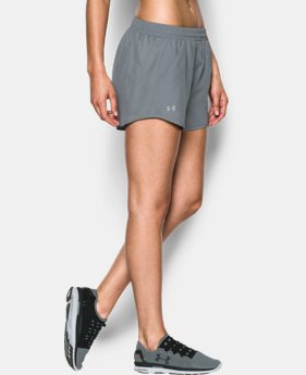 Women's UA Fly-By Run Shorts  2 Colors $14.99 to $18.99