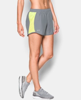 Women's UA Fly-By Run Shorts  1 Color $18.74