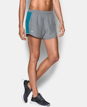Women's UA Fly-By Run Short  3 Colors $22.99