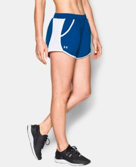 Best Seller Women's UA Fly-By Run Short LIMITED TIME: FREE SHIPPING 3 Colors $24.99