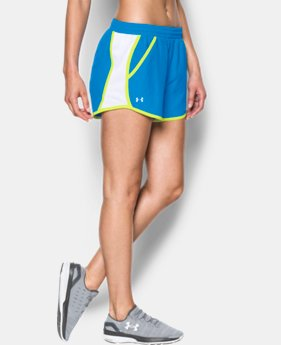 Women's UA Fly-By Run Shorts  1 Color $14.24