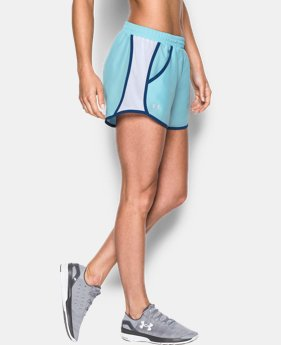 Women's UA Fly-By Run Short LIMITED TIME: FREE U.S. SHIPPING 3 Colors $14.24 to $18.99
