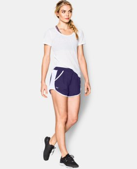 Women's UA Fly-By Run Short LIMITED TIME: FREE SHIPPING 1 Color $24.99