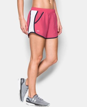 Women's UA Fly-By Run Short LIMITED TIME: FREE U.S. SHIPPING 2 Colors $14.24 to $18.99